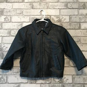 Gap Leather Jacket Size XS